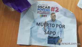 Amenazan a candidato a la alcaldía de Tenza, Boyacá - Caracol Radio