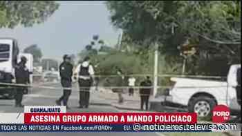 Matan a comandante de la Policía de Jaral del Progreso - Noticieros Televisa