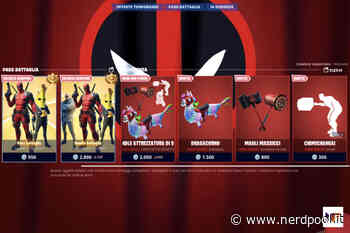 Fortnite, Deadpool travolge lo shop! Dragacorno, Magli Massicci e Chimichanga! - NerdPool
