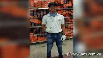 Imagen del Nazareno en anaquel de un supermercado en Yaritagua - ACN ( Agencia Carabobeña de Noticias)