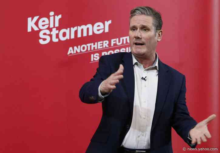 U.K.'s Labour Names Keir Starmer Leader as Party Trails in Polls