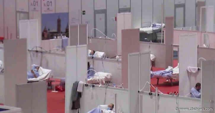 Spain behind U.S. in total number of coronavirus cases