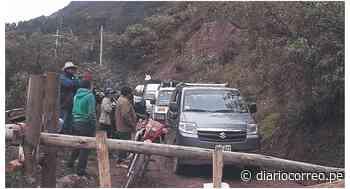 Ronderos impiden pase de vehículos a su pueblo en provincia de Pomabamba - Diario Correo