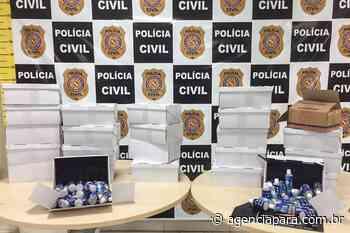 Denúncias Polícia Civil combate a venda irregular de álcool em gel em Abaetetuba Farmácias da cidade - Para