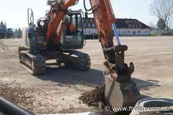Bauarbeiten in Hainichen laufen weiter - Freie Presse