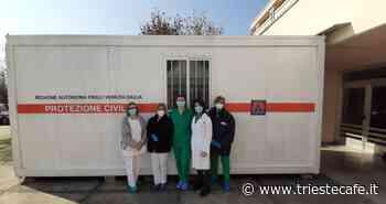 Coronavirus, al Cro di Aviano un container per esame tamponi - triestecafe.it