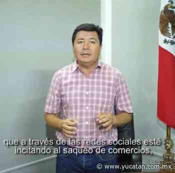 """En Tixkokob ya hay """"invitaciones"""" a saquear tiendas - El Diario de Yucatán"""