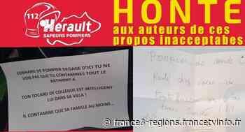 """Coronavirus Montpellier : """"Pompier de merde dégage d'ici"""", les menaces anonymes contre des pompiers de l'Hér - France 3 Régions"""