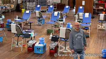 DRK Ense muss 50 Blutspender nach Hause schicken - Aktion trotzdem erfolgreich   Ense - soester-anzeiger.de