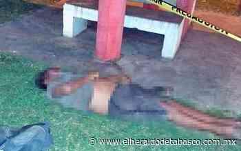Muere sujeto en Parque Ecológico de Teapa - El Heraldo de Tabasco
