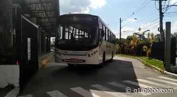 Motoristas e cobradores de ônibus fazem paralisação em Campo Limpo Paulista - G1