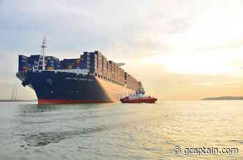 CMA CGM Marco Polo Cleared of COVID-19 - gcaptain.com