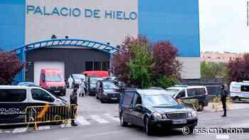 Spain's coronavirus death toll shows signs of flattening