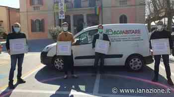 EcoAbitare dona 700 mascherine al Comune di Calcinaia - LA NAZIONE