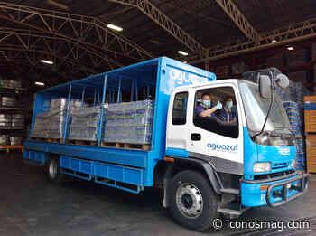 #SiempreConVos: Aguazul by Emsula entrega donativo al IHSS San Pedro Sula - Iconos Mag