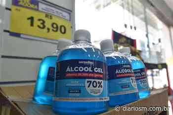 Preço do álcool gel varia até R$ 17 em Santa Maria - Diário de Santa Maria