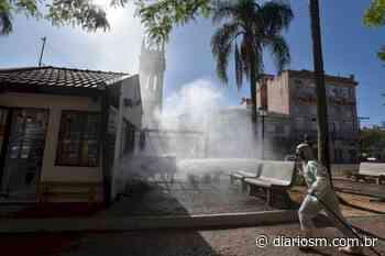 Mais seis locais passam por trabalho de sanitização em Santa Maria - Diário de Santa Maria