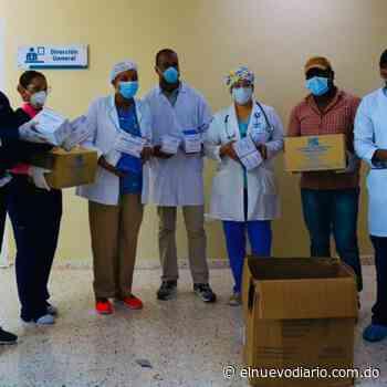 Alcalde electo de San Cristóbal dona mascarillas y guantes a hospital Juan Pablo Pina - El Nuevo Diario (República Dominicana)