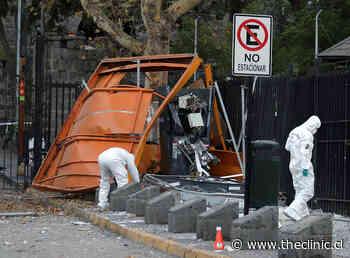 Detonan cajero automático en acceso al Cerro San Cristóbal - The Clinic