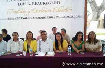 Festejo de aniversario en la escuela Luis A. Beauregard en Cosamaloapan - El Dictamen