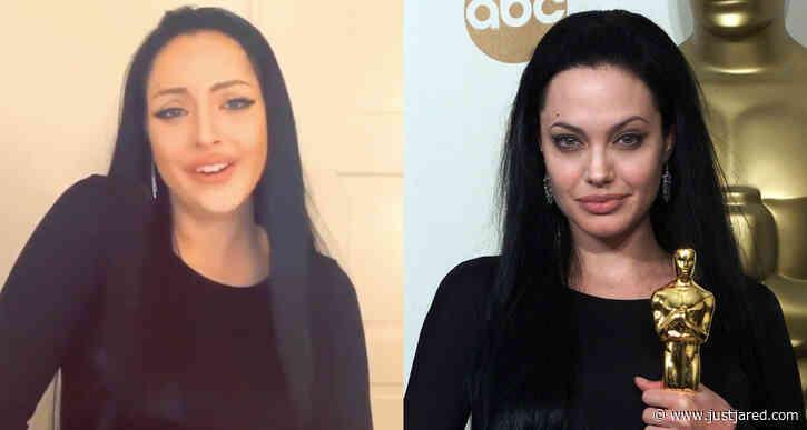 Elizabeth Gillies Gives Spot-On Impersonation of Angelina Jolie's Oscars Speech - Watch!