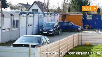 Bobingen: Ärger um Bauarbeiter-Container in Bobingen - Augsburger Allgemeine