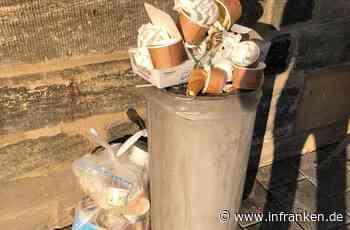 Coronavirus lässt Mülltonnen überquellen: Privater Hausmüll verunreinigt die Stadt Forchheim - inFranken.de