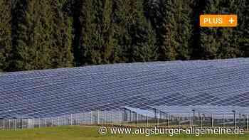 Erneuerbare Energien: Landwirt will Solarpark bei Ederheim bauen - Augsburger Allgemeine