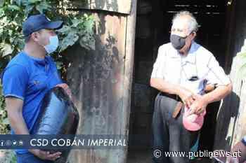 Cobán Imperial hace entrega de granos básicos a las familias más necesitadas ante la crisis del COVID-19 - Publinews Guatemala