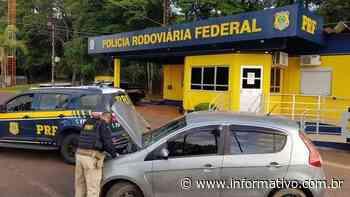 PRF recupera veículo roubado e prende dois homens em Lajeado - Infomativo