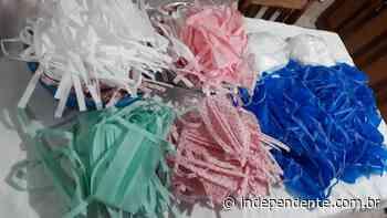 Voluntárias produzem máscaras e jalecos para hospitais de Lajeado e Marques de Souza - independente