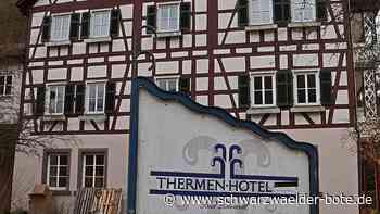 Bad Liebenzell: Thermen-Hotel soll an Glanzzeit anknüpfen - Bad Liebenzell - Schwarzwälder Bote