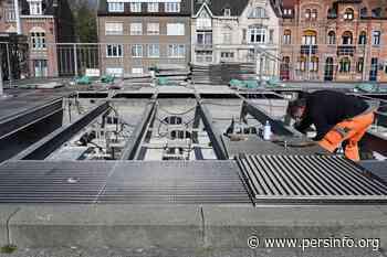 Halle vernieuwt fontein op Stationsplein - Persinfo.org