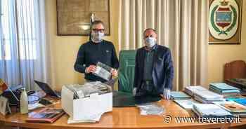 Coronavirus: al comune di San Giustino mascherine e gel disinfettante donate dalle aziende locali - Tevere TV