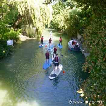 Initiation au stand up paddle sur la Marne Joinville 12 avril 2020 - Unidivers
