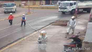 Hidroamazonas desinfecta las calles de Puerto Ayacucho semanalmente - El Pitazo