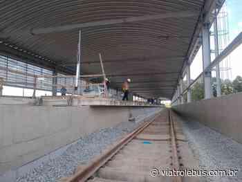 Estações Mendes-Vila Natal e Varginha, da Linha 9-Esmeralda, tem novos prazos de entrega - Via Trolebus