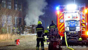 Brand in Bernau bei Berlin löst Feuerwehr-Großeinsatz aus - B.Z. Berlin
