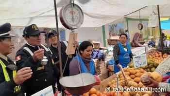 Puno: Incautan balanzas adulteradas en feria sabatina de la ciudad de Ayaviri - Radio Onda Azul