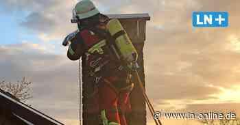 Heißer Schlot - Feuerwehr verhindert Schornsteinbrand in Schwarzenbek - Lübecker Nachrichten