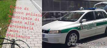 Gaglianico, segnala il posto di controllo della Polizia Locale con una storia su Instagram: 24enne nei guai - newsbiella.it