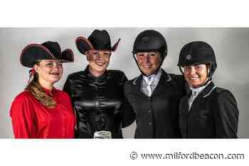 Equestrian team wins academic awards - Milford Beacon
