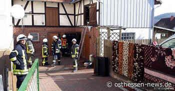 Scheunenbrand im Bad Hersfelder Stadtteil Asbach schnell unter Kontrolle - Osthessen News