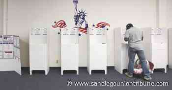 Column: Devising an election system for the coronavirus age - The San Diego Union-Tribune