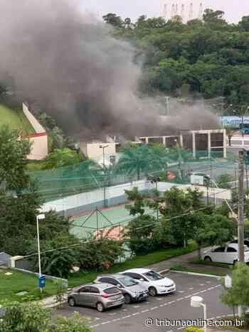 Incêndio atinge igreja na Serra - Tribuna Online