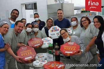 Pizzaria de Taboão da Serra presta homenagem aos profissionais da saúde - Portal O Taboanense
