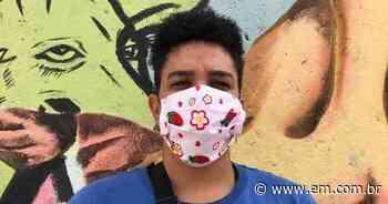 Projeto social do Aglomerado da Serra faz máscaras de algodão - Estado de Minas