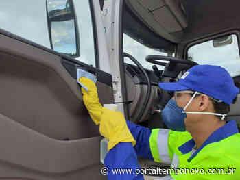 Serviços de limpeza e coleta de lixo continuam funcionando normalmente na Serra - Portal Tempo Novo