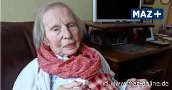 Pritzwalk - 103. Geburtstag: Oma Käthe muss ohne ihre Liebsten feiern - Märkische Allgemeine