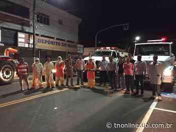CORONAVÍRUS Jandaia do Sul adora desinfecção de ruas e estabelecimentos - TNOnline